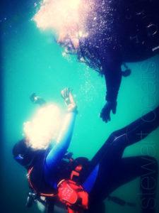 Rescue scuba diver certification course